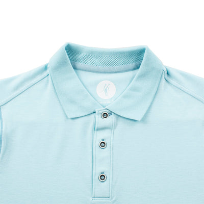 Helmsman L/S Polo (Sea Silk) COOL WATER