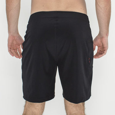 Jaws Stretch Boardshort BLACK