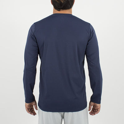 Dawn Patrol - SPF Long Sleeve Swim Shirts Back In ELEMENT NAVY