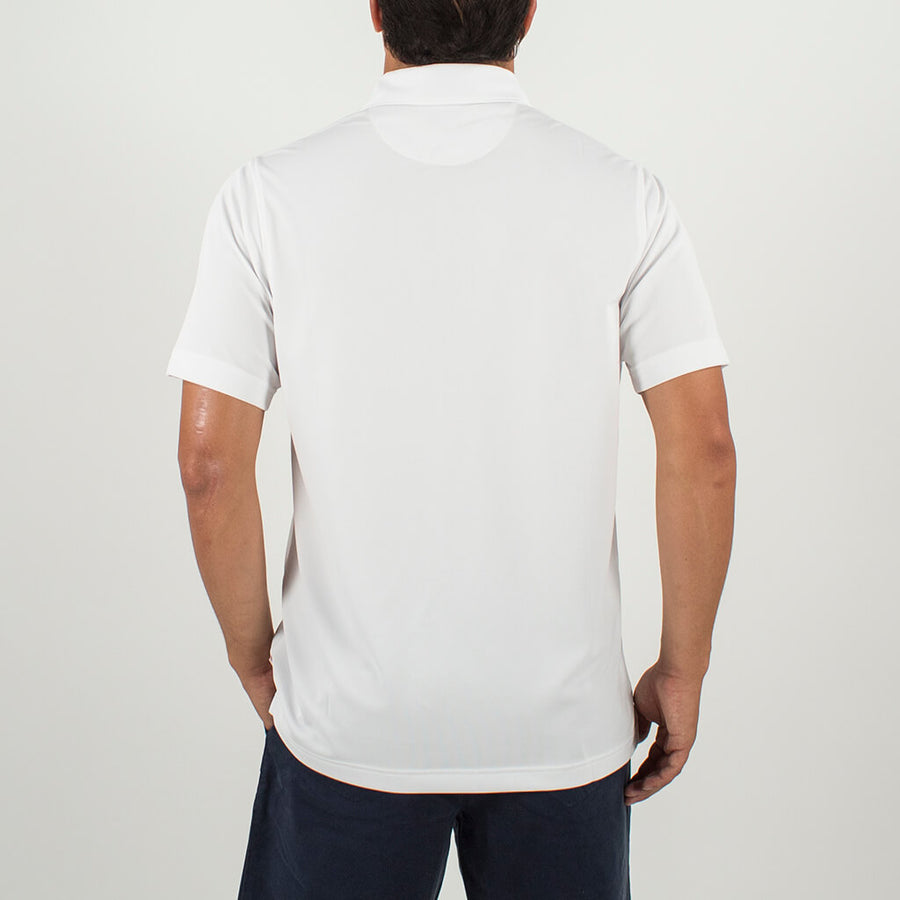 Making Waves Polo WHITE