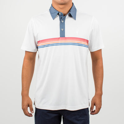 Sunset Strip Polo SUNSET WHITE