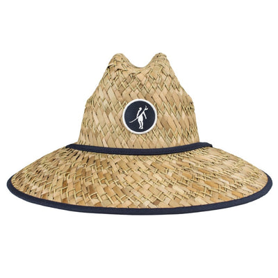 Beach Hat STRAW NAVY