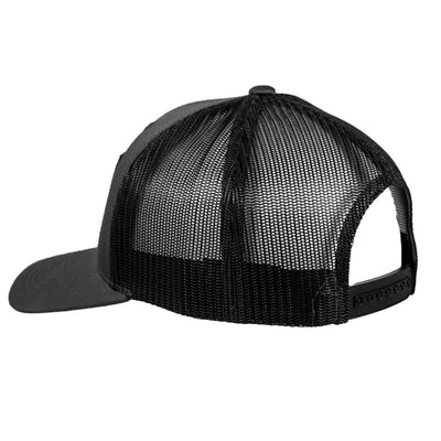 Stacked Snapback Trucker Hat CHARCOAL