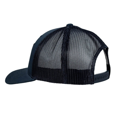 Stacked Snapback Trucker Hat NAVY
