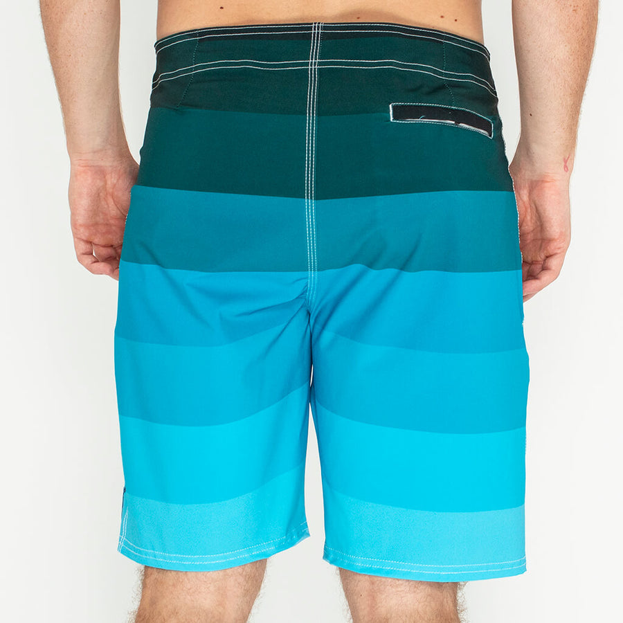 Ombre Boardshort OMBRE BLUE