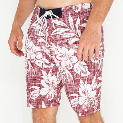 Canoe Club Boardshort CANOE RED