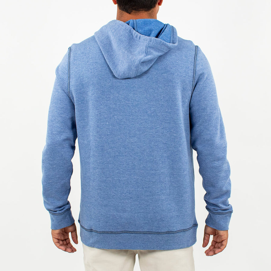 Olympic Fleece Hoodie OLYMPIC BLUE