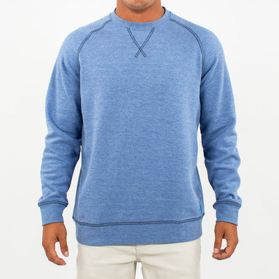 Globetrotter Fleece Crew GLOBETROTTER BLUE