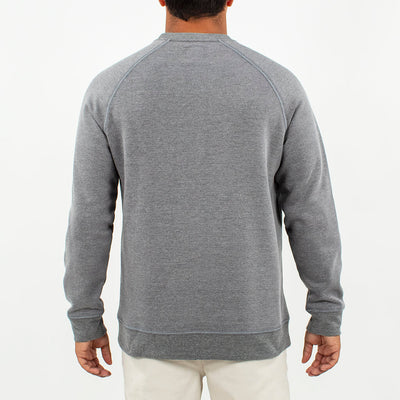 Globetrotter Fleece Crew GLOBETROTTER CHARCOAL