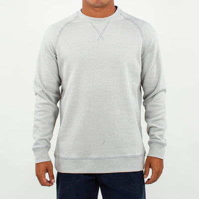 Globetrotter Fleece Crew GLOBETROTTER GREY