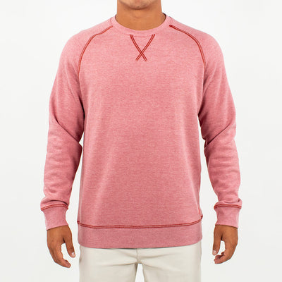 Globetrotter Fleece Crew GLOBETROTTER RED
