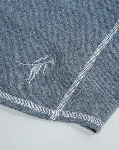 Schooner | Long Sleeve Hoodie (Sea Silk) DARK HEATHER GREY