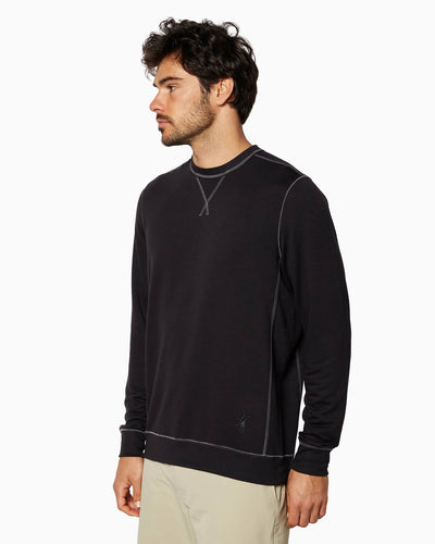 Growler L/S Crew (Sea Silk) BLACK