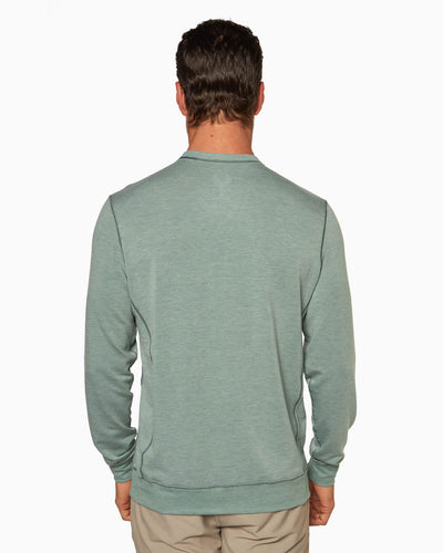 Growler | Long Sleeve Crew (Sea Silk) KELP