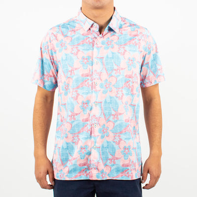 Road Trip Button-Up ROAD TRIP BLUE
