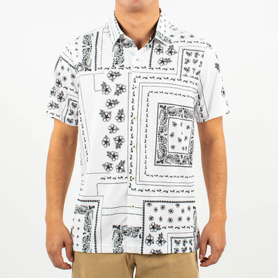 Lakewood Button-Up WHITE