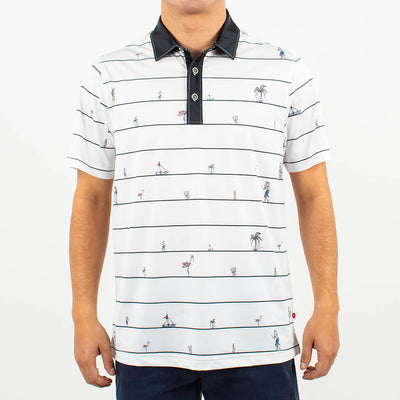 Party Time Polo WHITE