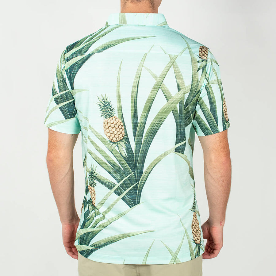Piña Jungle | Performance Button-Up