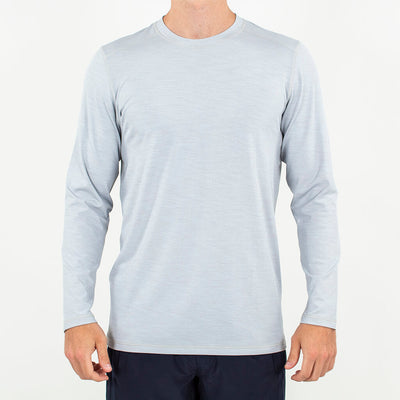 Trainer | Long Sleeve Performance Crew LIGHT GREY