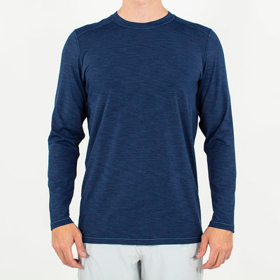 Trainer | Long Sleeve Performance Crew DARK NAVY
