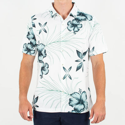 Islander | Performance Button-Up ISLANDER GREY