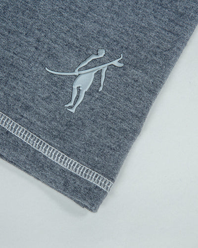 Draft | Short Sleeve Crew (Sea Silk) DARK HEATHER GREY