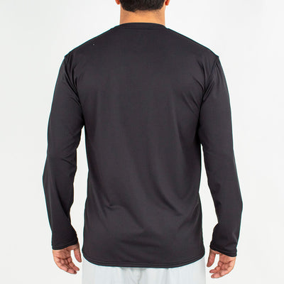 Dawn Patrol - SPF Long Sleeve Swim Shirts Back In BLACK