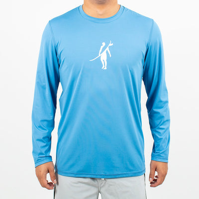 Dawn Patrol - SPF Long Sleeve Swim Shirts Front In ELEMENT RIVIERA
