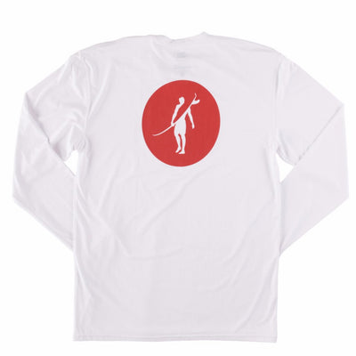 Coaster - UPF Long Sleeve T Shirt Back In WHITE