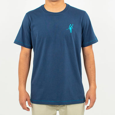Palm Paradise Short Sleeve T-Shirt NAVY