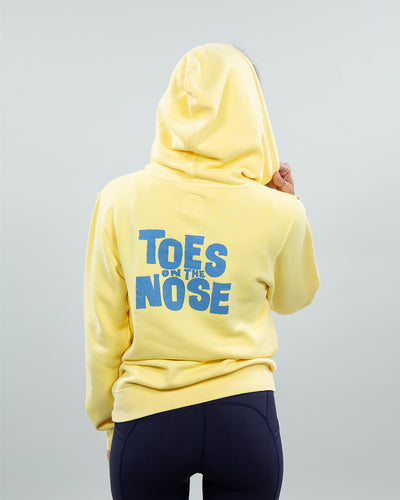Stacked Hoodie Women's Yellow Back