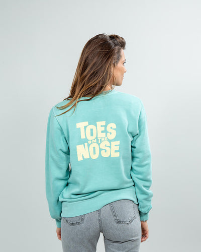 Stacked Crew Women's Mint Back