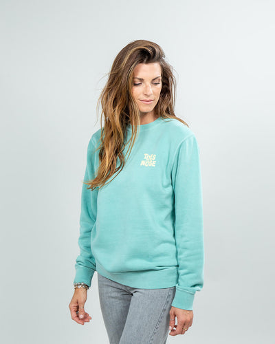 Stacked Crew Women's Mint Side