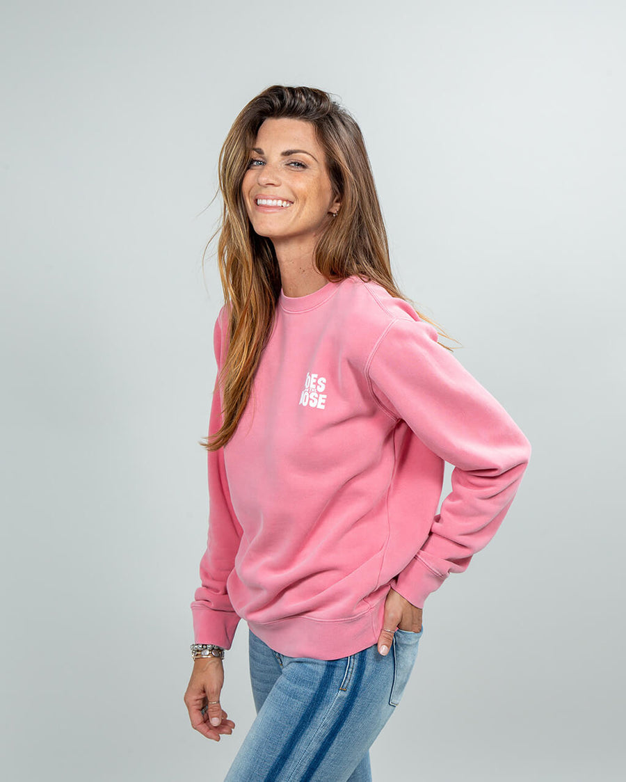Stacked Crew Women's Pink