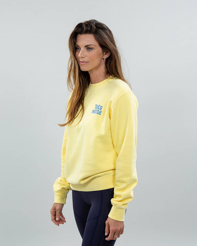 Stacked Crew Women's Yellow Side