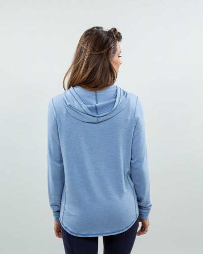 Schooner Hoodie Women's (Sea Silk) Pacific Back