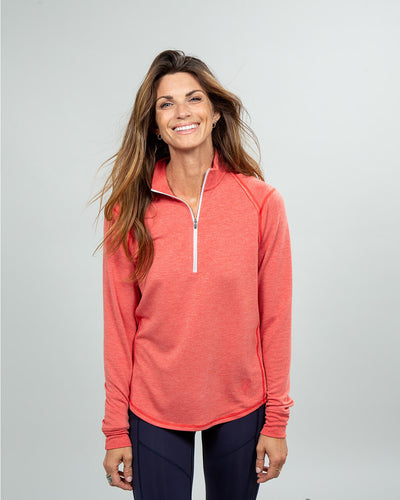 Barrel Quarter-Zip Women's (Sea Silk) Nantucket