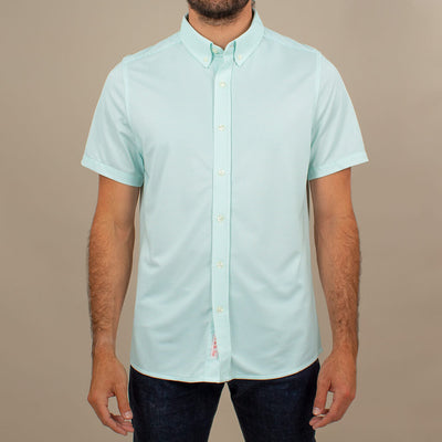 Atlanta S/S Button-Up ATLANTA AQUA