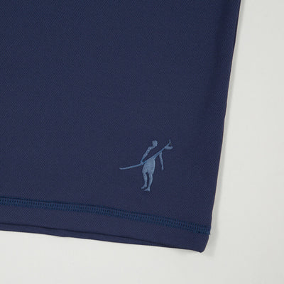Dawn Patrol - SPF Long Sleeve Swim Shirts Front In ELEMENT NAVY logo