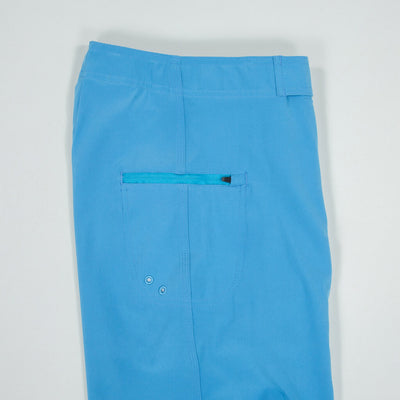 Jaws Stretch Boardshort JAWS BLUE Back Pocket Details