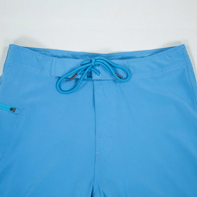 Jaws Stretch Boardshort JAWS BLUE Waistband Detail