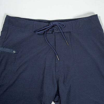 Jaws Stretch Boardshort NAVY Waistband Detail
