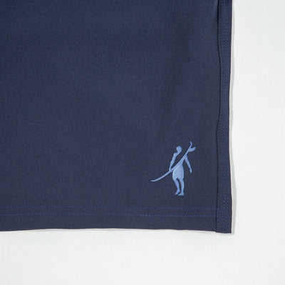 Jaws Stretch Boardshort NAVY Shadowman Detail