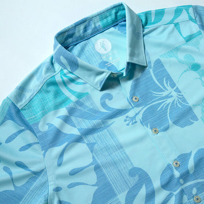 Beachside | Performance Button-Up BEACHSIDE BLUE