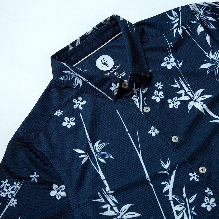 Blooms Button-Up BLOOMS NAVY