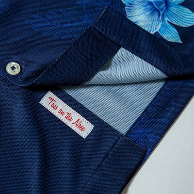 Summer Camp | Performance Button-Up NAVY