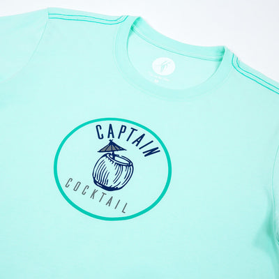 Captain Short Sleeve T-Shirt SEA GLASS