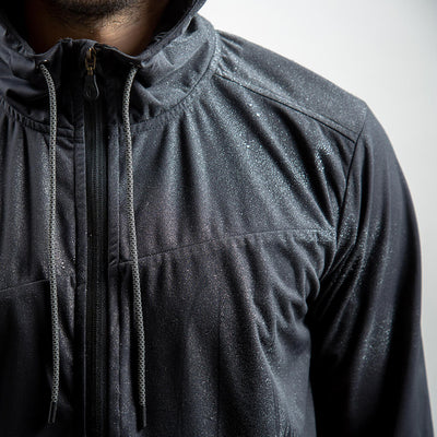 Hudson | Performance Windbreaker BLACK