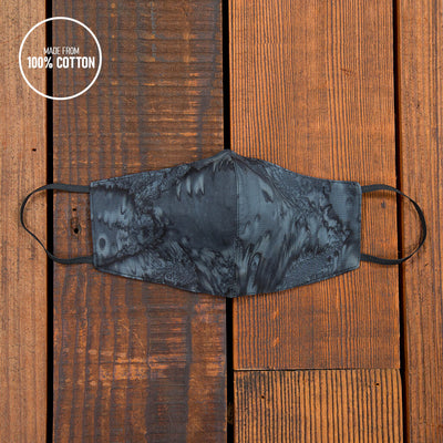 Spread Aloha | Reusable Face Mask For Germs In DEEP BLACK
