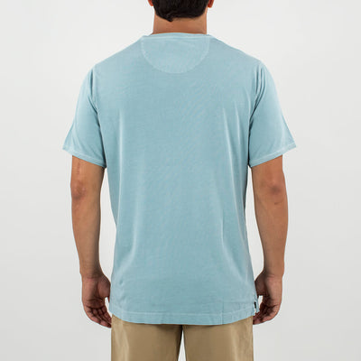 V-Neck S/S Tee LIGHT BLUE